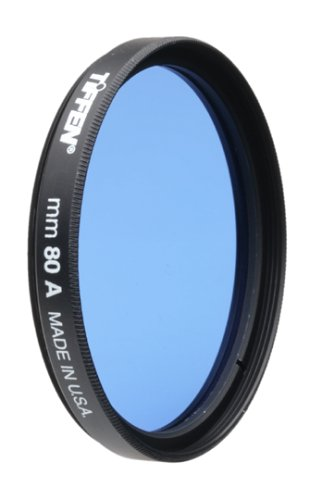 Tiffen 67mm 80A Filter by Tiffen