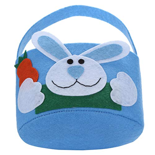 - HHmei Easter Sunday Bunny Gift Bag Rabbit Candy Bag Creative Present Home Accessory Bunny Gift Bag Rabbit Candy Bag Creative Gift Home Accessories (Blue)