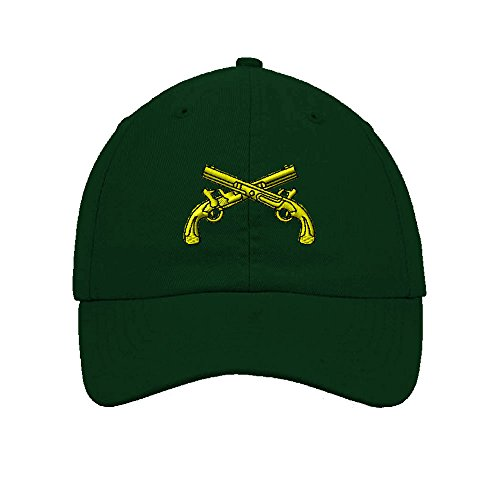 Insignia Embroidery - Speedy Pros Military Police Insignia Embroidery Twill Cotton 6 Panel Low Profile Hat Forest Green