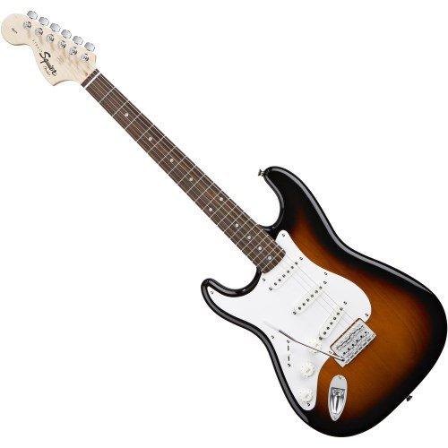 Fender Squier Affinity Strat RW Brown Sunburst LH - Guitarra eléctrica: Amazon.es: Instrumentos musicales