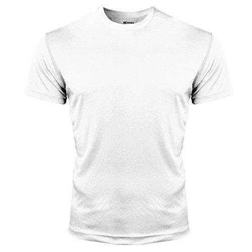쿨원단 언더레이어  EXIO(《에쿠시오》) Compression 웨어 맨즈 반소매 둥근 목 모양랭감 루즈 피트 T셔츠