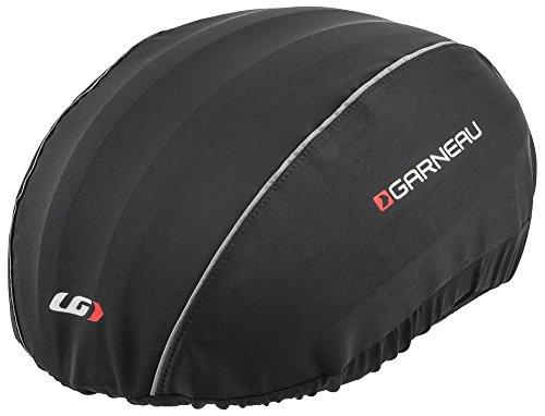 (Louis Garneau H2 Bike Helmet Cover, Black, Large/X-Large)