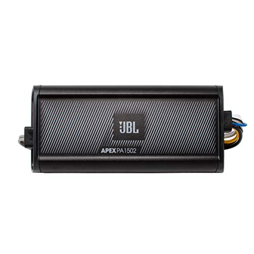 - JBL Apex PA 1502 300 Watt RMS 2 Channel Marine & Powersport Amplifier - 150 x 2 at 2-Ohms