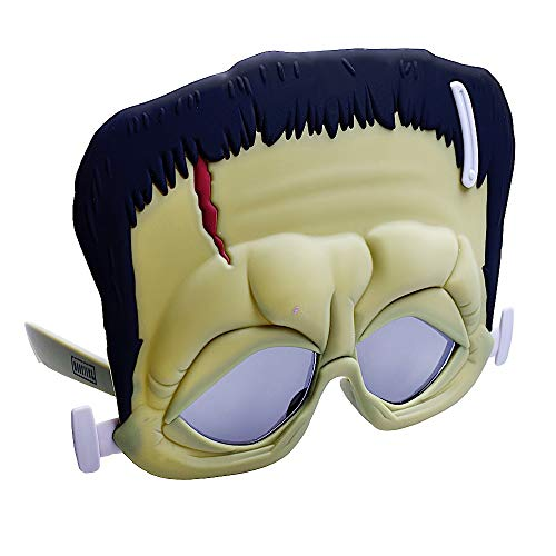 Costume Sunglasses Monsters Frankenstein Sun-Staches Party Favors UV400]()