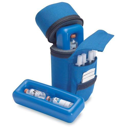 Insulin Protector Case Insulin Cooler - Blue