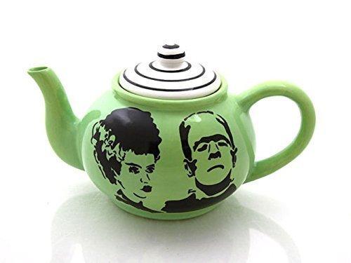 Mr and Mrs Frankenstein Teapot]()