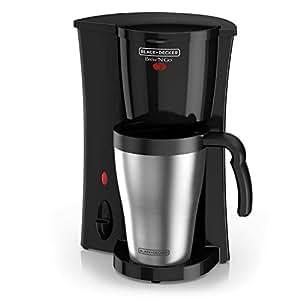 Black & Decker DCM18S Coffeemaker, Black/Stainless Steel