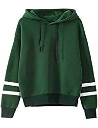 Amazon.com: Green - Fashion Hoodies & Sweatshirts / Clothing ...