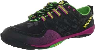 Merrell Lithe Glove Trail Running Shoe - Women's Black (11, Black)