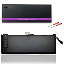 """APPLE A1309 A1297 Battery [7.3V 95Wh], AY High-Performance Replacement Laptop Battery for APPLE Macbook Pro 17"""" (Only for 2009 Version Early 2009 Mid-2009 Mid-2010) MC226CH/A, MC226J/A MC226LL/A, MC226TA/A, MC226ZP/A Laptop"""