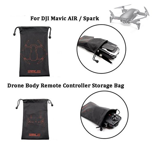 yuntu Mavic Air Case Sleeve Portable Storage Pouch Waterproof Protector For DJI Mavic Air Drone and Mavic Air/Pro/Spark Remote Controller