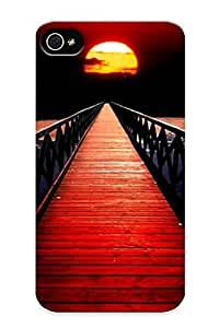 meilinF000Honeyhoney Brand New Defender Case For ipod touch 5 (red Sunset Bridge) / Christmas's GiftmeilinF000