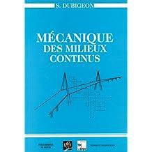 Mecanique des Milieux Continus 2e Ed.