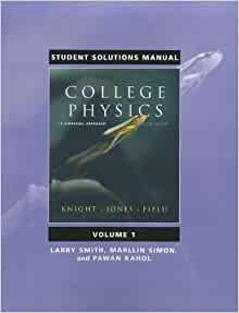 college physics 2nd edition knight student solutions manul pdf