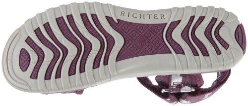 Richter Kinderschuhe Motion - Sandalias deportivas de material sintético niña Violeta - Violett (burgundy)