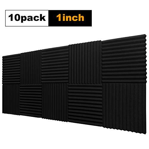 10 Pack,Acoustic Panels Studio Foam Wedges 1