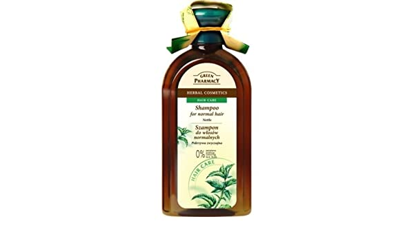 Green Pharmacy Champú Para Cabello Normal-Graso Ortiga 350 ml: Amazon.es: Belleza