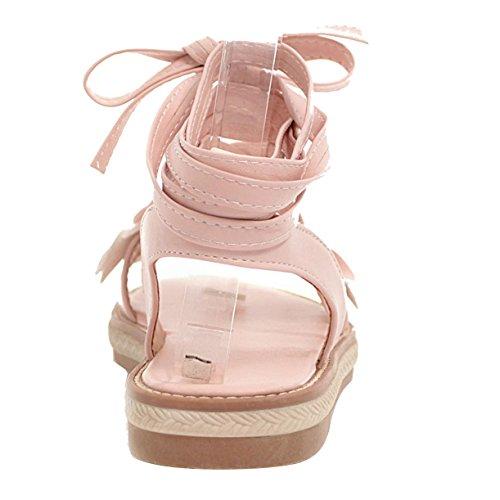 Cheville JYshoes Rose Femme Bride JYshoes Bride 0qUtq