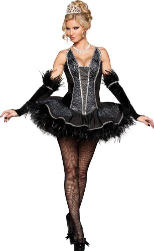 Seductive Swan Adult Costume -