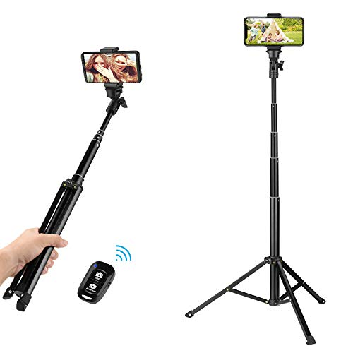 Selfie Stick Tripod, UBeesize 51 inch Extendable Selfie Stick with...