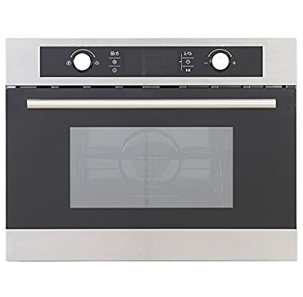 Montpellier MWBIC90044 | Compact Built In Combi Microwave Oven With Pull  Down Door In Stainless Steel: Amazon.co.uk: Large Appliances