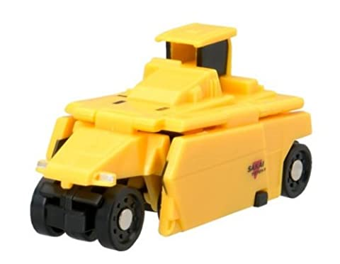 Bandai VooV VM09 Transforming Toy Car [Sakaijukogyo Tire Roller (TZ701-1) ~ Load Cutter (ER552F)] - Tomato Pro Cutter