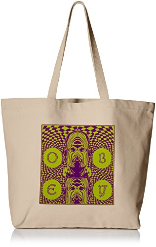 OBEY Men's Dreams Tote Bag, Natural, O/S