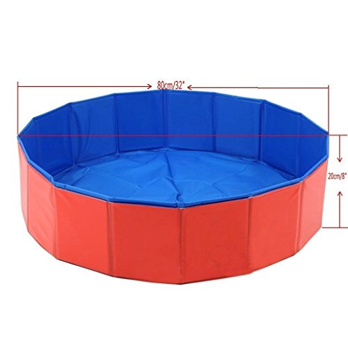 Outdoor Portable Foldable Collapsible Pet Swimming Pool