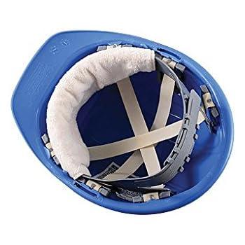 6PCK-Snap-On Hard Hat Sweatband - BEST SELLER - Beat the Heat - BEIGE