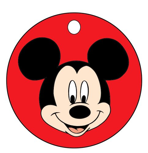 Amazon.com: Mickey Mouse cara llavero: Automotive