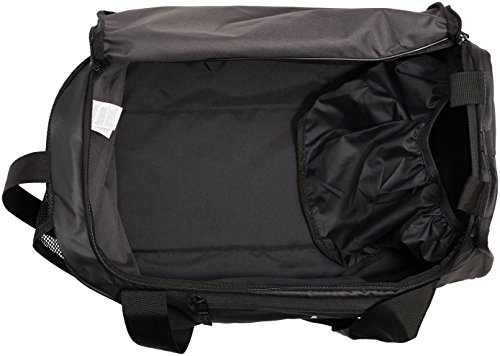 94f579bd6ccd Amazon.com  Nike Alpha Adapt Crossbody Medium Duffel Bag Black Black White   Sports   Outdoors