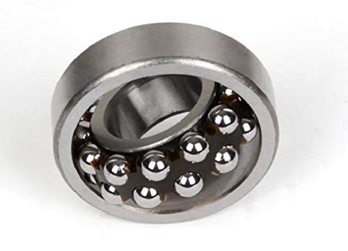 Ochoos 1Pc Self Aligning Ball Bearing 1200/1201/1203/1204/1205/1206/1207/1208/1209 ATN Self Align Double Row - (Diameter: ATN 1207)