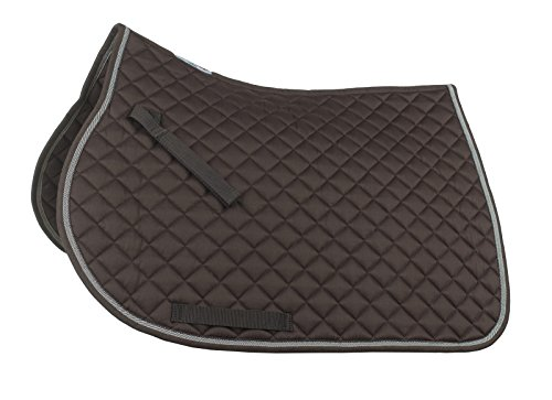 Horze Supreme Chooze All Purpose Saddle Pad Chocolate Brown F Pad Chocolate
