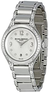 Baume & Mercier Men's MOA08800 Ilea Mother-Of-Pearl Dial Watch