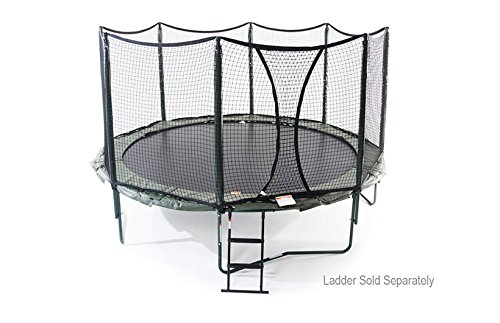 NEW 14' AlleyOOP PowerBounce Trampoline with integrated Safety Enclosure