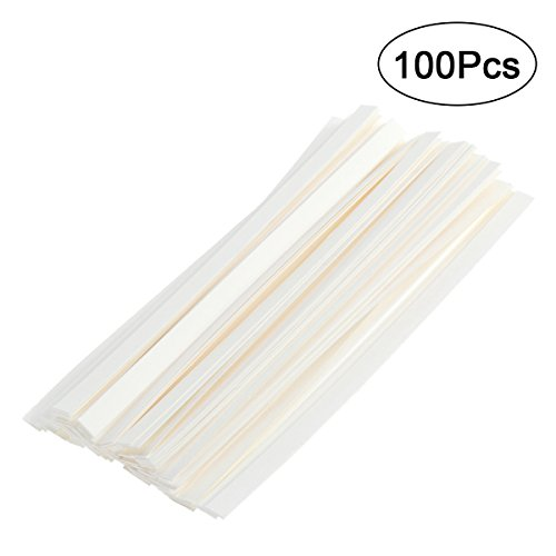 ROSENICE Perfume Test Strips 100pcs Aromatherapy Fragrance Perfume Essential Oils Test Tester Paper Strips