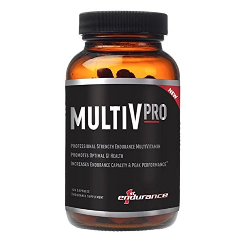First Endurance Nutrition - 2016 First Endurance Multi-V PRO 120 Capsules Professional Strength Endurance Multivitamin