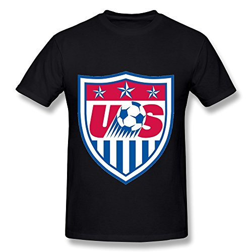 FS U.s. Womens National Soccer Team T Shirt For Men Black S (Us Womens National Team)