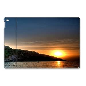 Amazing Lake Sunset iPad Air Smart Cover Leather