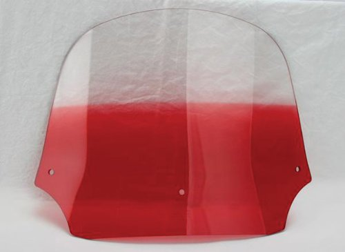 Memphis Shades Batwing Fairing Windshield (12in) (Gradient Ruby)