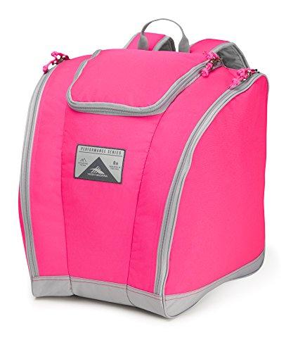 High Sierra Trapezoid Boot Bag, Flamingo/Ash (Snowboard Bag Pink)