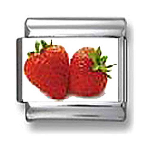 (Strawberries Italian charm)