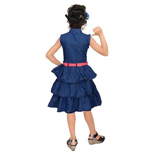 41X2Jw ACUL. SS500  - 4 YOU Denim Cotton Dress