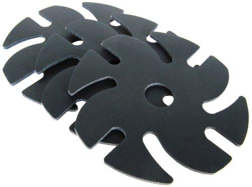 "Jooltool Ninja Cushion Backing, 3"" Diameter(Pack of 3)"