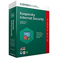Kaspersky Internet Security Renovación 2017 - Software De Seguridad Y Antivirus, 3 Usuarios, 1 Año
