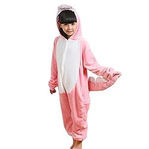 JT-Amigo Kids Unisex Cosplay Pajamas Onesie Dinosaur Costume