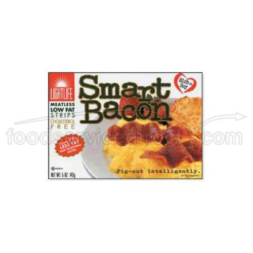 Light Life Foods Smart Bacon, 5 Ounce - 12 per case. by Lightlife