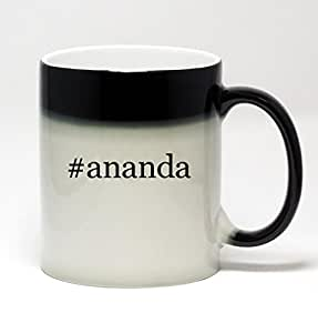 11oz Color Changing Hashtag Coffee Mug - #ananda