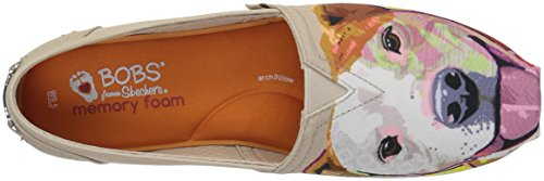 Natural Pitty Women's Ballet Love Skechers Bobs BOBS Plush from Flat Breeds zqE8qZw