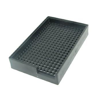DealMux anti-estático de plástico duro sostenedor de la bandeja Tornillos Negro 3.0mm-